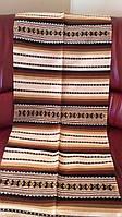 Доріжка килим ручної роботи акрил-льон ткана 150*55