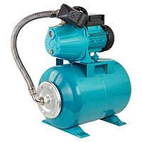 Насосная станция гидрофор Leo для воды 0.8кВт Hmax36м Qmax60л/мин (самовсас. насос) 24л