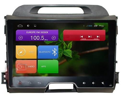 Штатная автомагнитола Redpower 31074 R IPS DSP для KIA Sportage R на Android 7.1.1