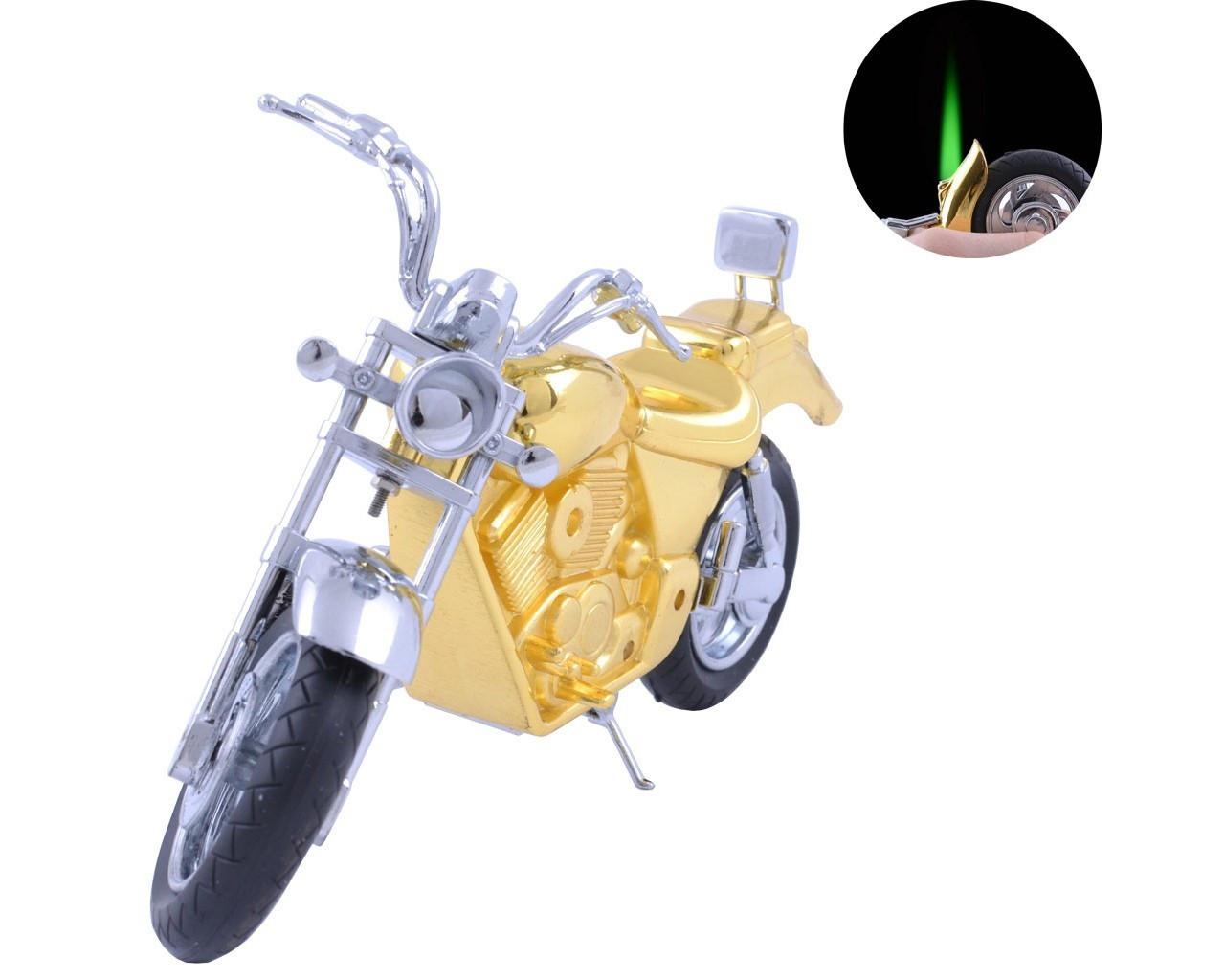 """Зажигалка сувенирная """"Harley-Davidson"""" Золотистый"""