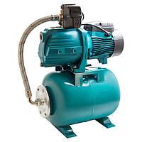 Насосная станция гидрофор Leo для воды 0.75кВт Hmax36м Qmax85л/мин (самовсас. насос) 24л