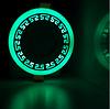 """LED панель Lemanso """"Грек"""" LM543 круг 12+6W зелёная подсв. 1080Lm 4500K 85-265V"""