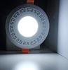 """LED панель Lemanso """"Грек"""" LM555 круг  6+3W жёлтая подсв. 540Lm 4500K 85-265V"""