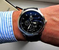 Часы мужские кварцевые Tag Heuer Carrera. Стильные часы Tag Heuer Carrera. Стильные часы.