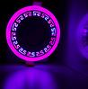 """LED панель Lemanso """"Грек"""" LM543 круг 12+6W розовая подсв. 1080Lm 4500K 85-265V"""