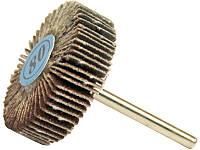 Шлифовальный лепестковый круг для гравёра 31х10 мм хвостовик 3,17 мм FIT