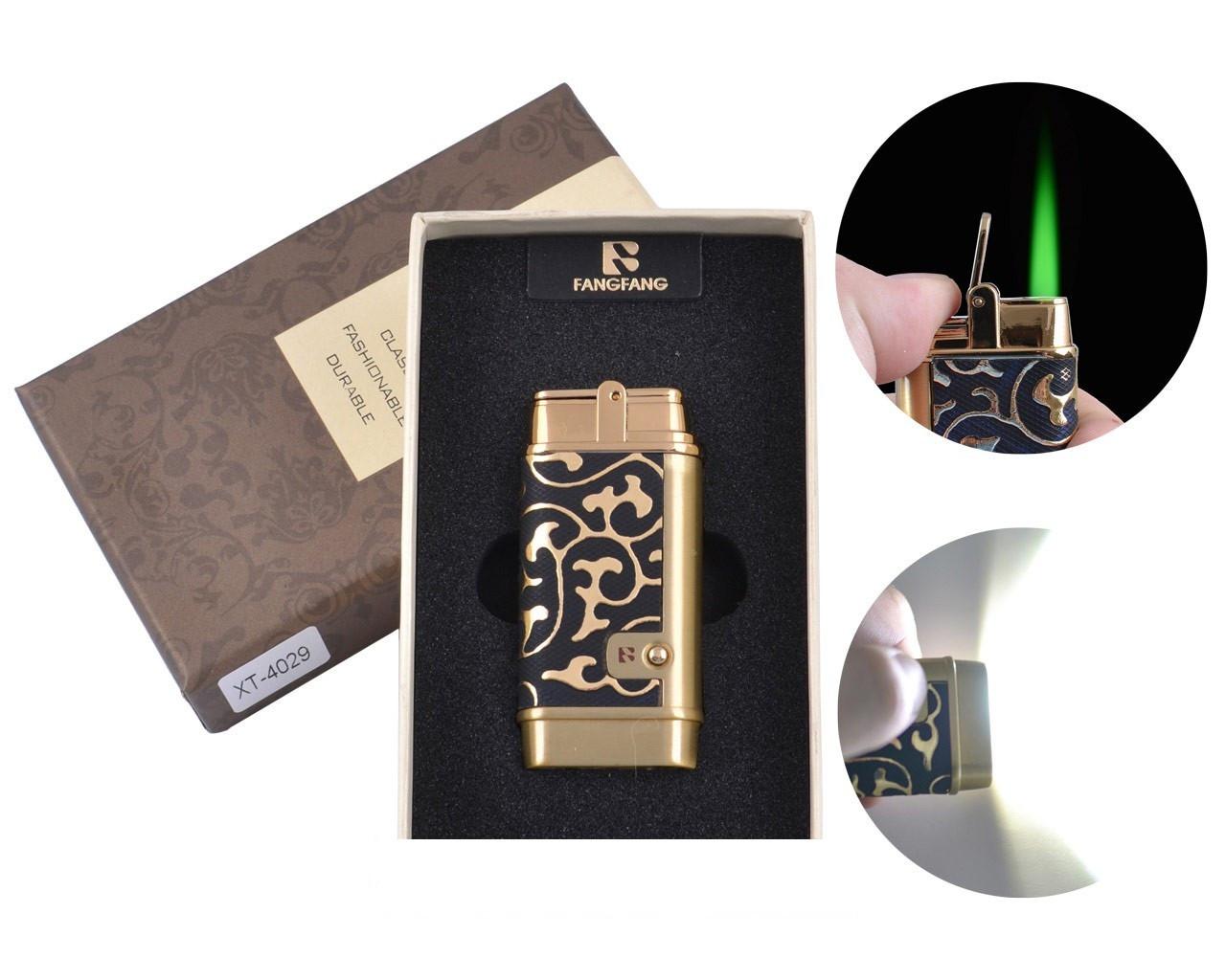 Зажигалка в подарочной коробке Fang-Fang (Турбо пламя)