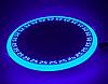 """LED панель Lemanso """"Грек"""" LM543 круг 12+6W синяя подсв. 1080Lm 4500K 85-265"""