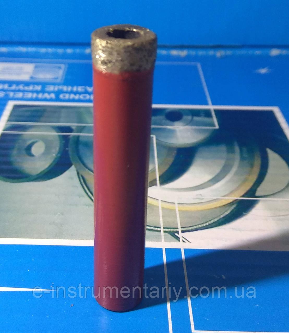 Сверло трубчатое 6мм со спеченным алмазоносным слоем