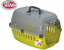 Контейнер-переноска для собак Pet Nova Securetrans 48.5х32.3х30.1 см Желтый