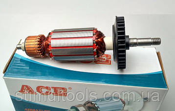Якорь (ротор) для УШМ Sparky M 750 (151 * 35 посадка 8 мм)