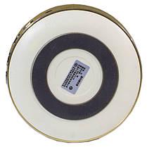 Портативный динамик BL AIDU Q1 золотистый AUX MP3 microSD кнопки навигации металлический корпус для смартфона, фото 3