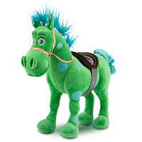 """Лошадь зеленая плюш из серии """"Маленький мир"""""""