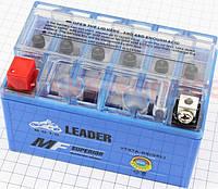 Аккумулятор на мототехнику 7Аh YTX7A-BS (гелевый) 150/85/95мм (завод OUTDO)