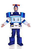Карнавальный костюм Робокар Поли мужской \ размер универсальный \ BL - ВМ231