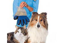 Щетка перчатка для вычесывания шерсти домашних животных, фото 1