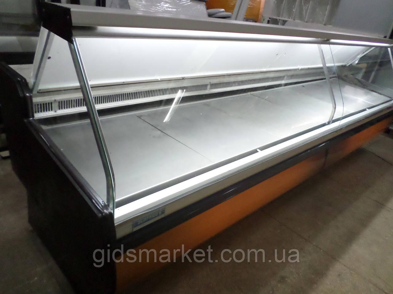 Холодильна вітрина Surfrigo 4 м. бу., гастрономічний прилавок бо.