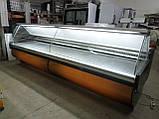 Холодильна вітрина Surfrigo 4 м. бу., гастрономічний прилавок бо., фото 2