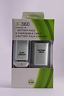Комплект на беспроводной геймпад XBox 360 (2 батареи 4800 мАч)