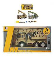 Детская игрушка на радиоуправлении Стройка (кран) 7M-394/96  военная аккумулятор свет