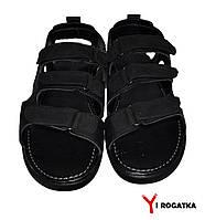 Мужские кожаные сандали Multi-shoes, черные