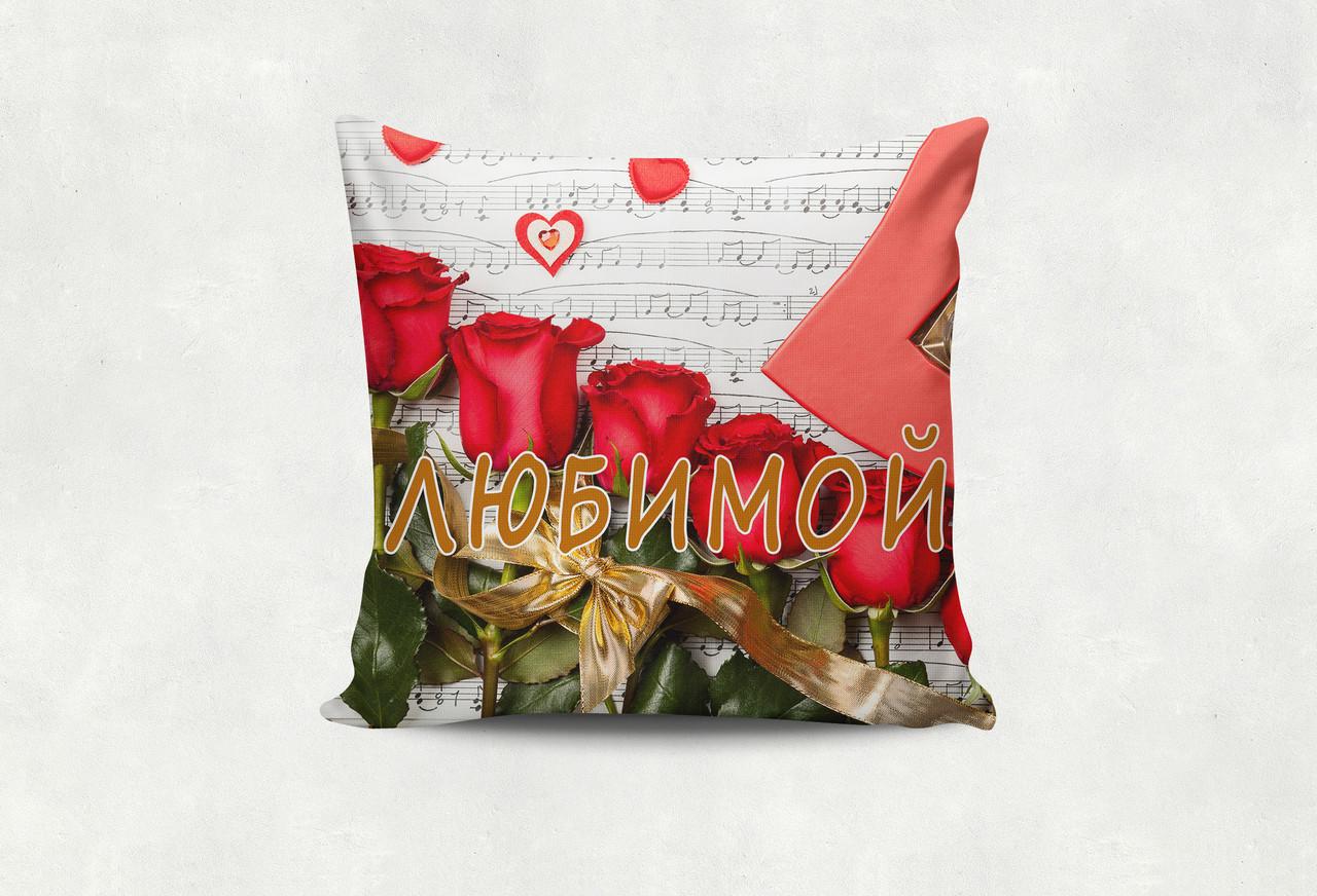 Подушка Любимой розы