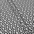 Гобелен ткань, узор, чёрно-белый, фото 3