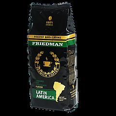 """Кофе в зерна FRIEDMAN """"LATIN AMERICA"""" 453г 100% арабика"""