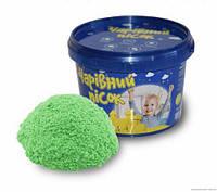 """Набор для творчества """"Волшебный песок"""" (мятный цвет)  2 кг"""