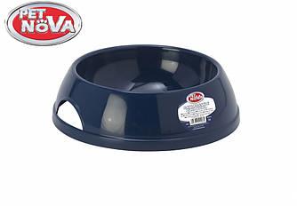 Миска для кота PetNova 200 ml синий