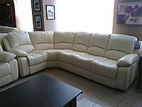 """Кожаный диван угловой раскладной """"Sinatra"""""""