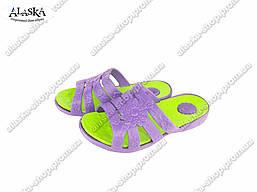 Женские шлепанцы (Код: Жен двухцветка ТС )