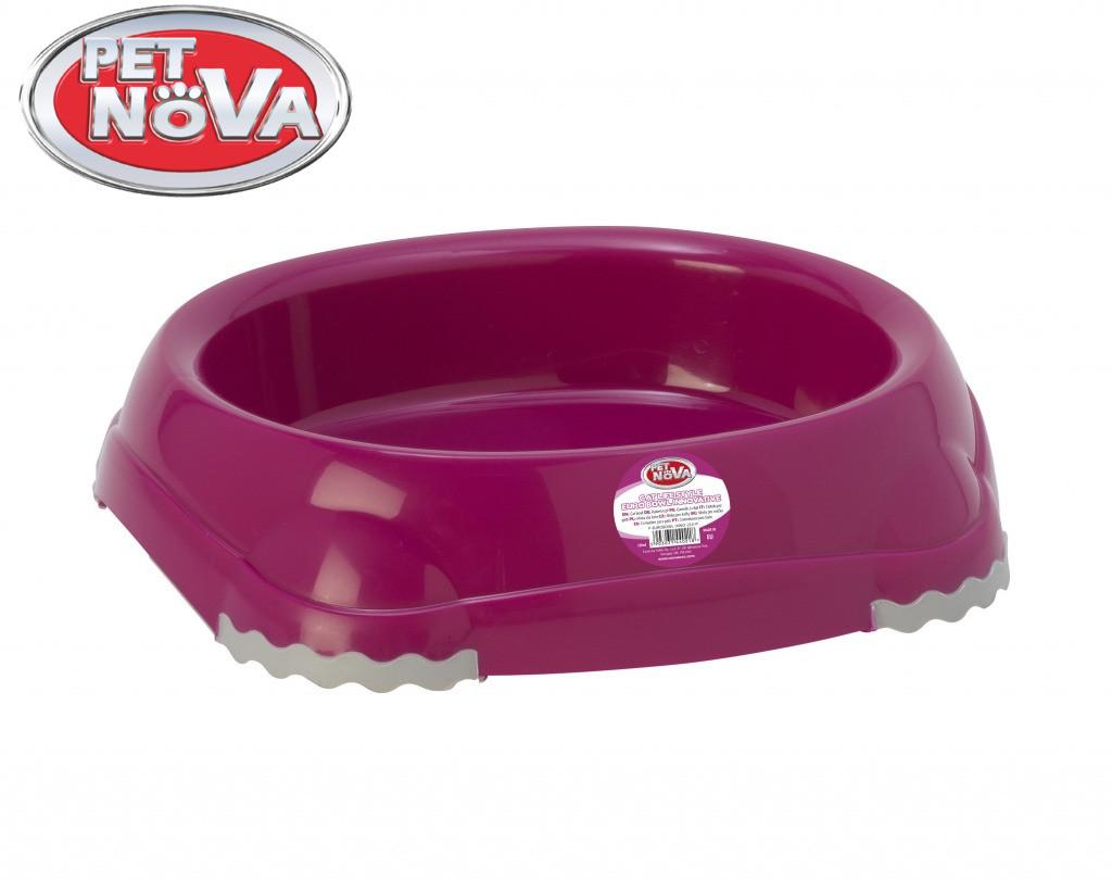 Миска для котів овальна Pet Nova 210 ml рожевий P-EUROBOWL-INNO-210-PI