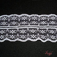 Кружево 40мм белое для декора