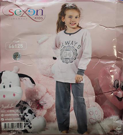 Дитяча піжама для дівчинки SEXEN 66125, фото 2