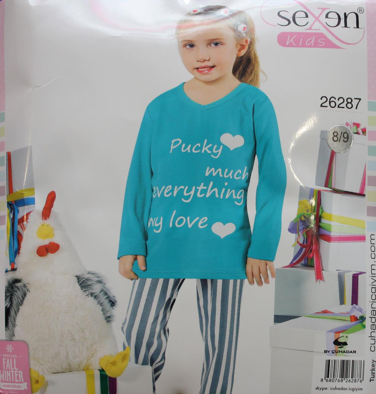 Детская пижама для девочки SEXEN 26287