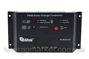 Контроллер заряда Altek ACM2024Z (20 А)
