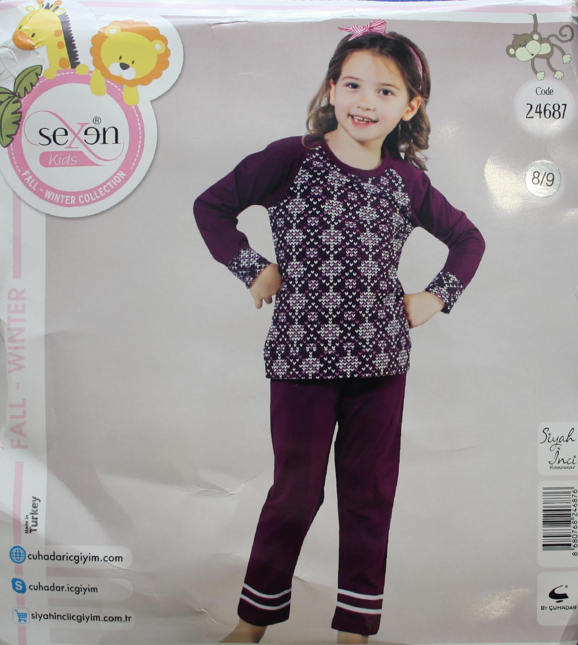 Дитяча піжама для дівчинки SEXEN 24687