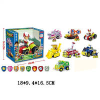 "Транспорт LQ2040 ""Paw Patrol"" Jungle Rescue городские службы с героями и значком 8в.кор.18*9,4*1(LQ2040)"