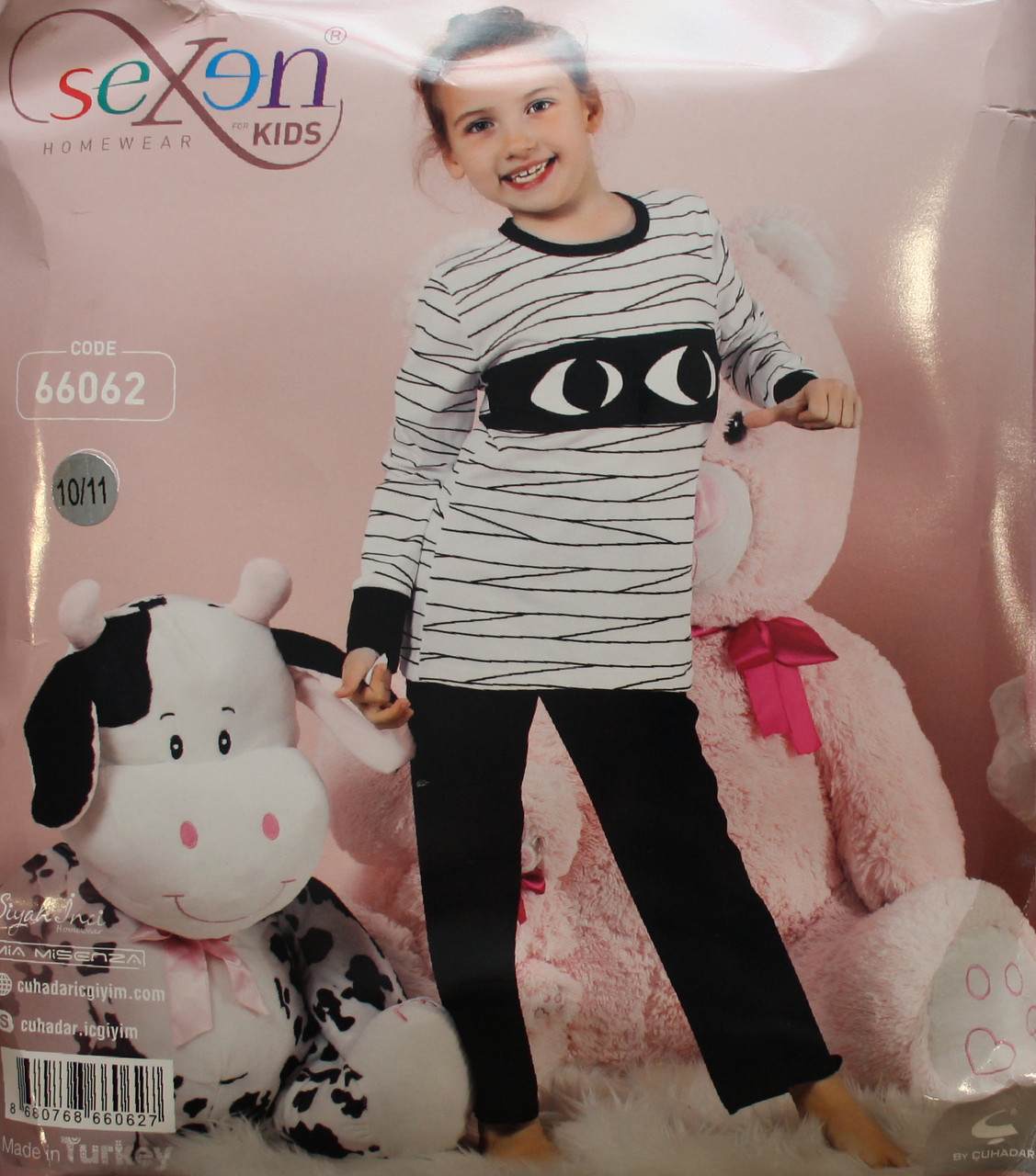 Дитяча піжама для дівчинки SEXEN 66062
