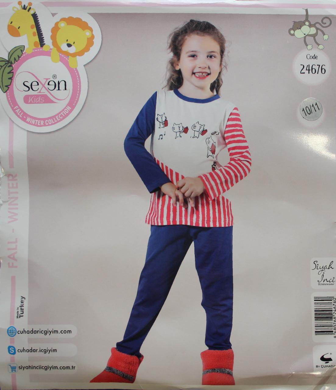 Детская пижама для девочки SEXEN 24676