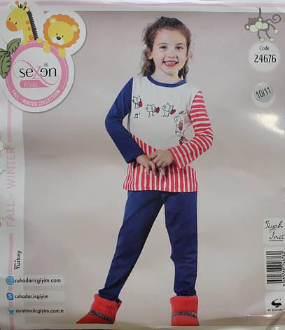 Детская пижама для девочки SEXEN 24676, фото 2