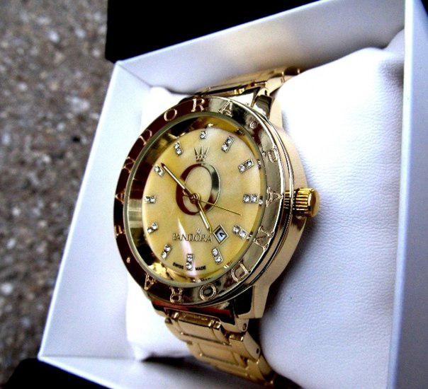 6f3eb847b067 Часы женские кварцевые PANDORA. Стильные женские часы в золоте и серебре.  Интернет ...