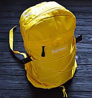 Рюкзак Supreme Желтый Топ Реплика Топ Реплика Хорошего качества, фото 1