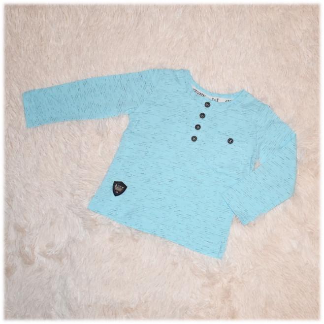Реглан детский на мальчика голубой Турция размер 74