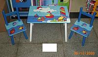 Стол + 2стула W02-3843 Кораблики кор.ш.к./5/(W02-3843)