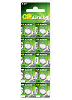 Батарейка таблетка GP A76, LR44, AG13 Alkaline