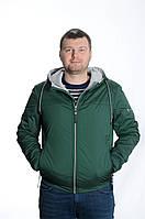 Куртка мужская деми Black VINYL TC18-1257зеленый