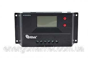 Контроллер заряда Altek ACM30D+USB (30А)