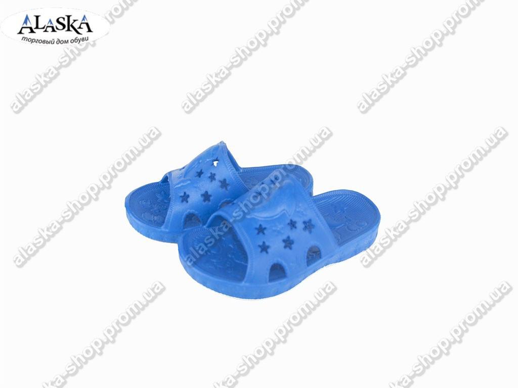 Детские шлепки (Код: ТС дельфин синий)